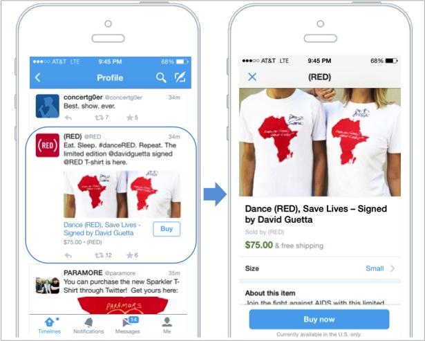 خرید از طریق توییتر