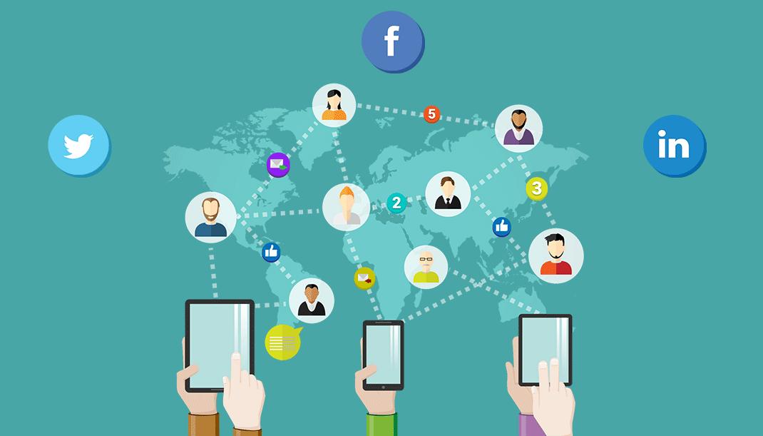 تروبا - ساخت شبکه در رسانههای اجتماعی