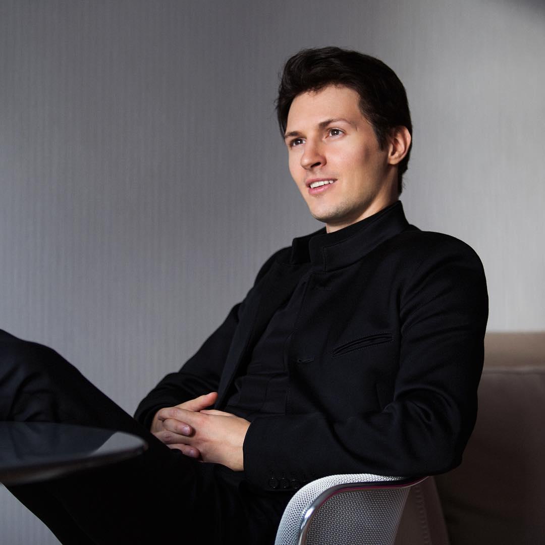Pavel Durov portrait
